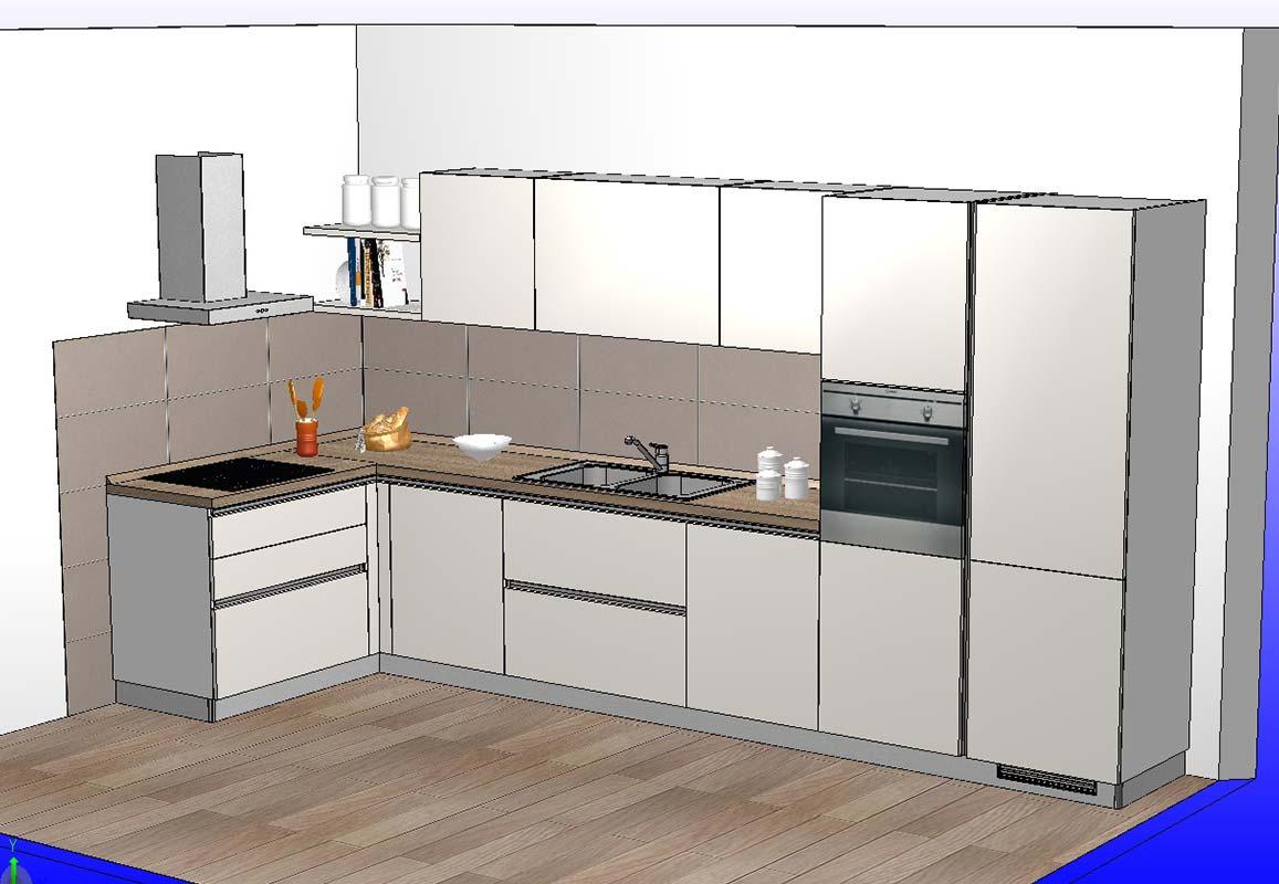 scavolini cucina ad angolo 398x155