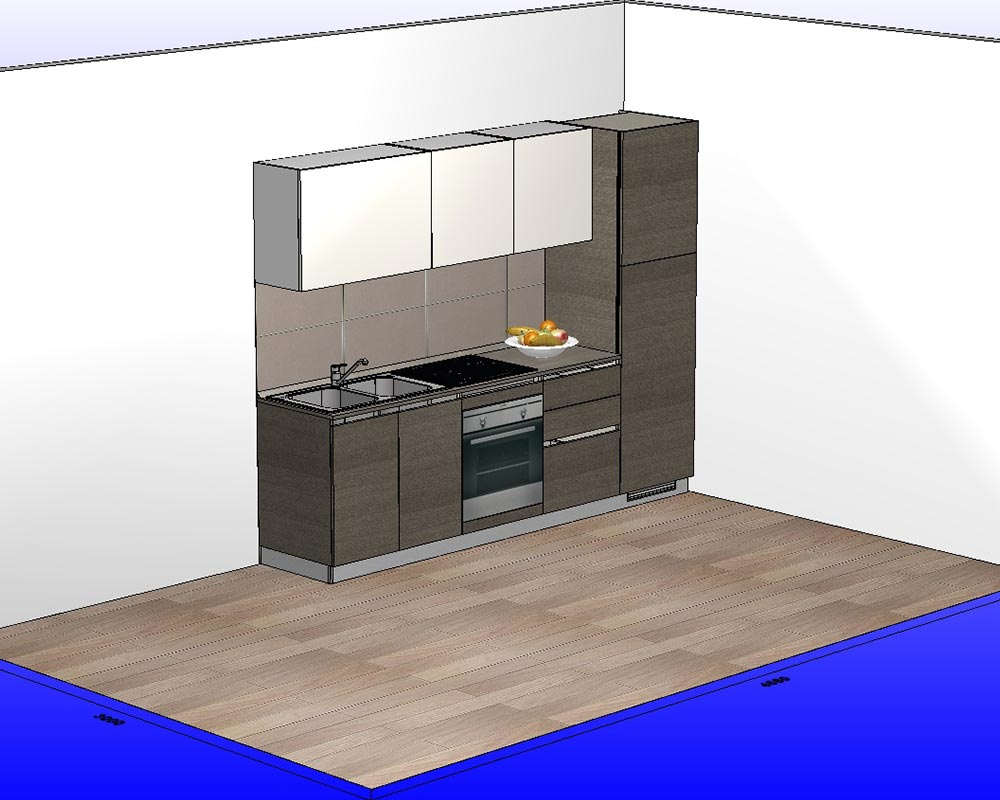 scavolini cucina lineare l 270