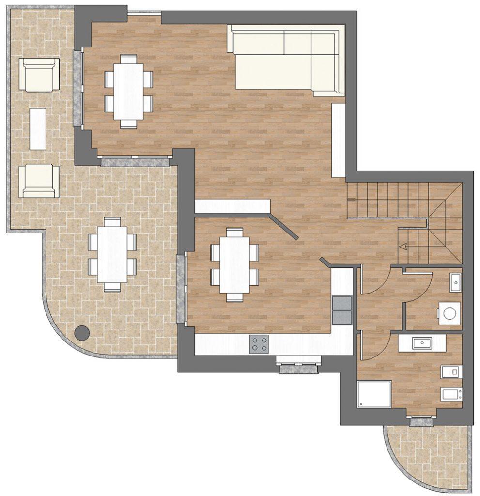 appartamento a10 palazzina a