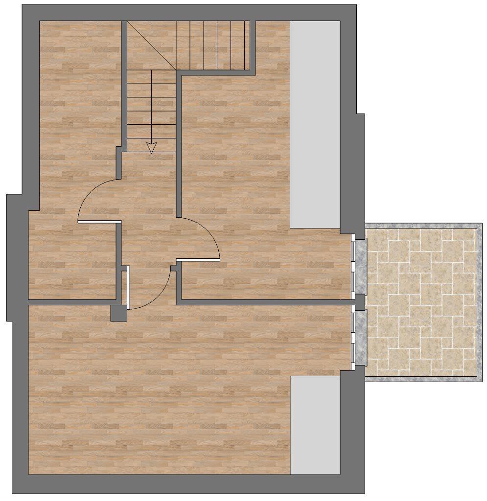 appartamento a13 sottotetto palazzina a