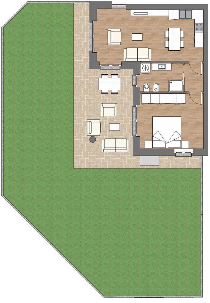 appartamento a2 palazzina a