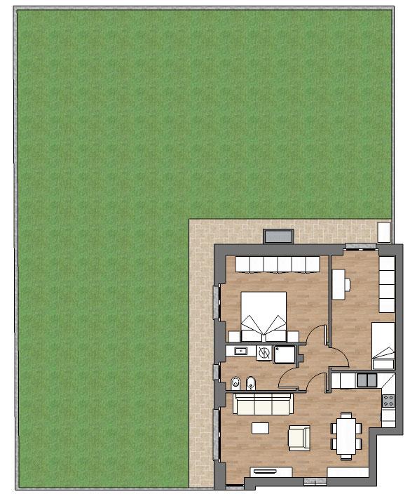 appartamento a3 palazzina a