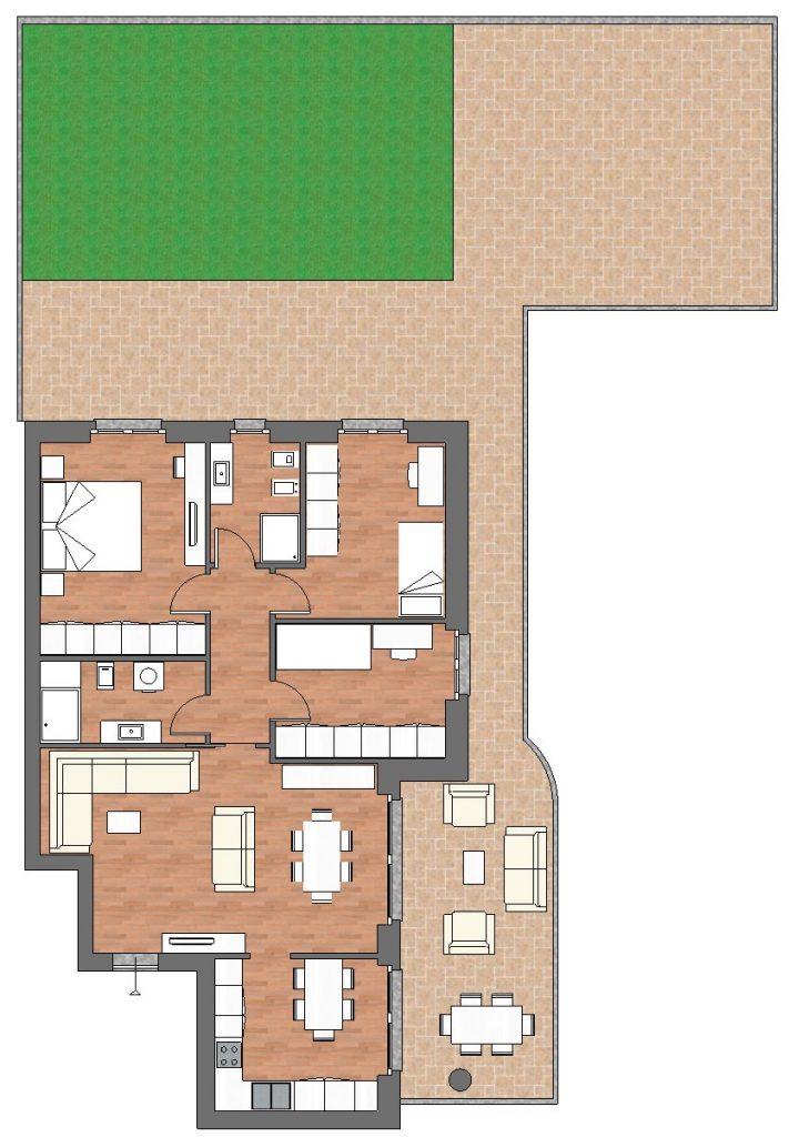 appartamento a4 palazzina a