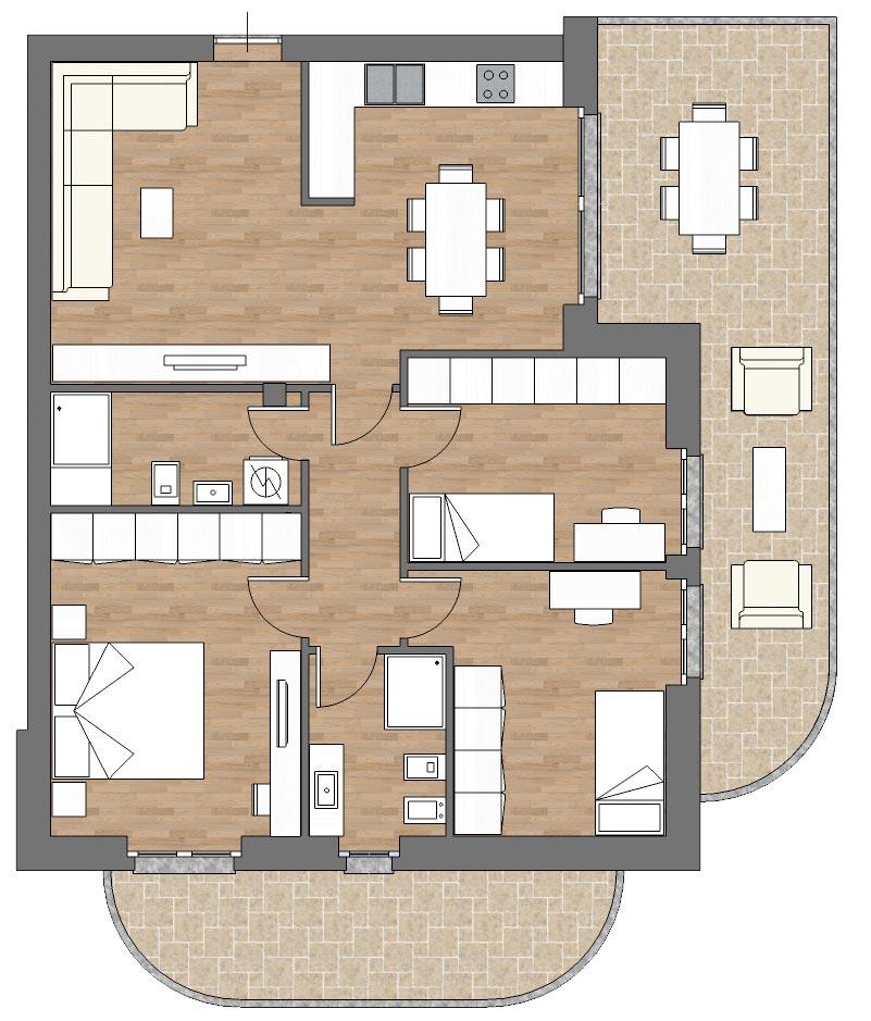 appartamento a5 palazzina a