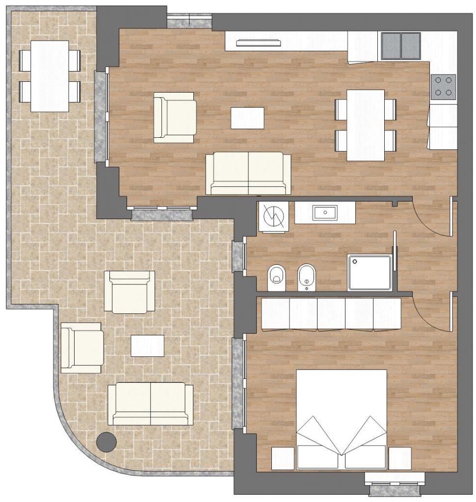 appartamento a6 palazzina a