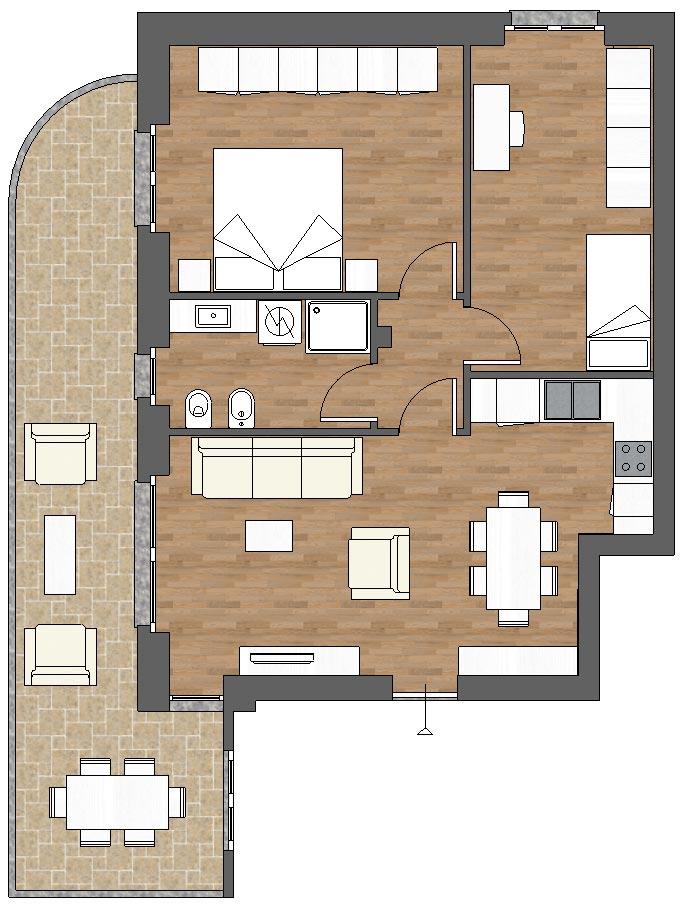 appartamento a7 palazzina a