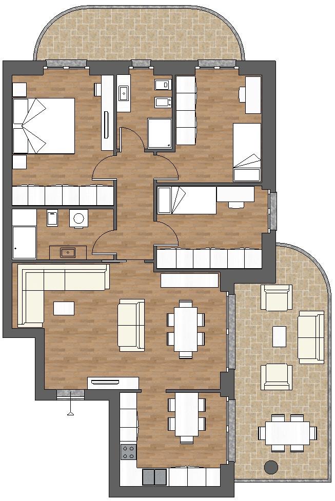 appartamento a8 palazzina a