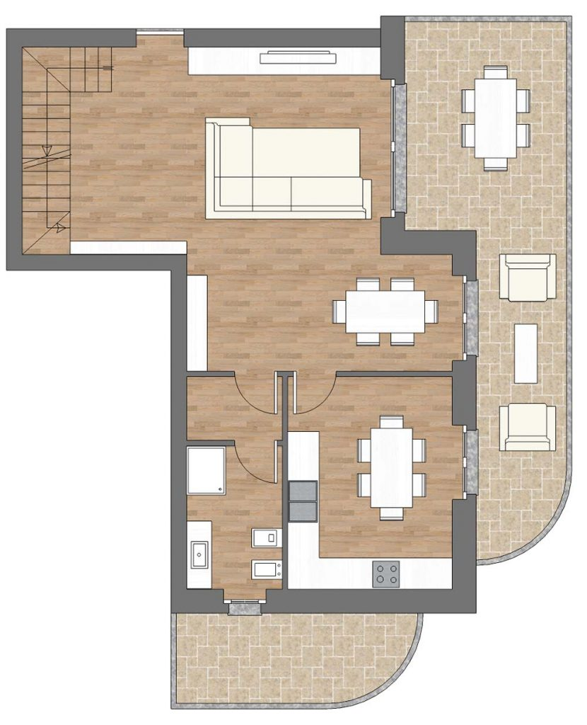 appartamento a9 palazzina a