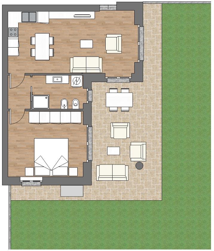 appartamento b2 palazzina b