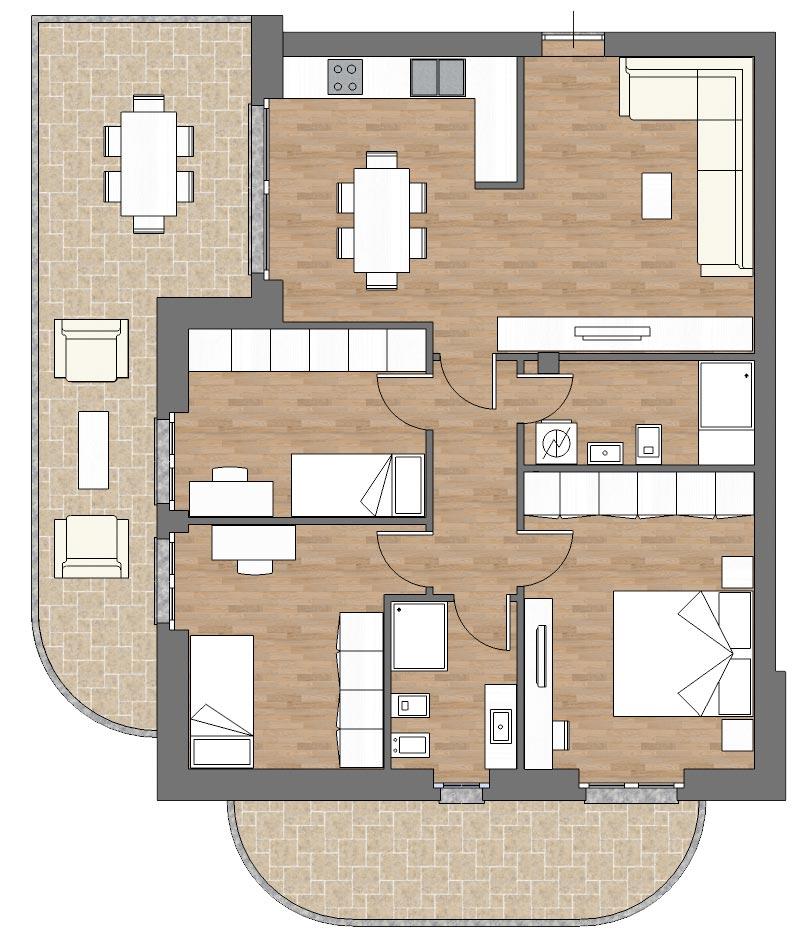 appartamento b5 palazzina b