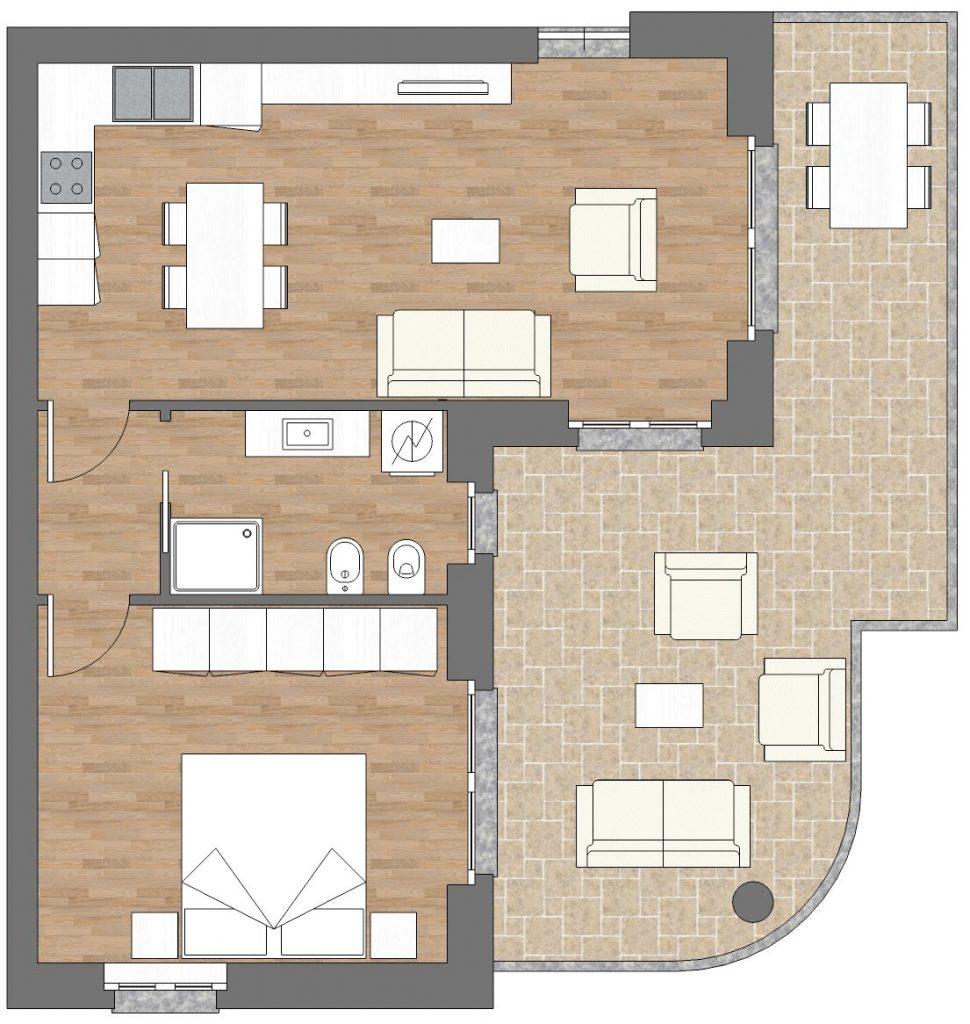 appartamento b6 palazzina b