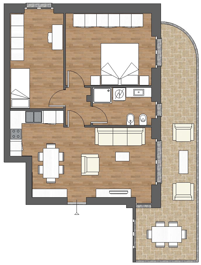 appartamento b7 palazzina b