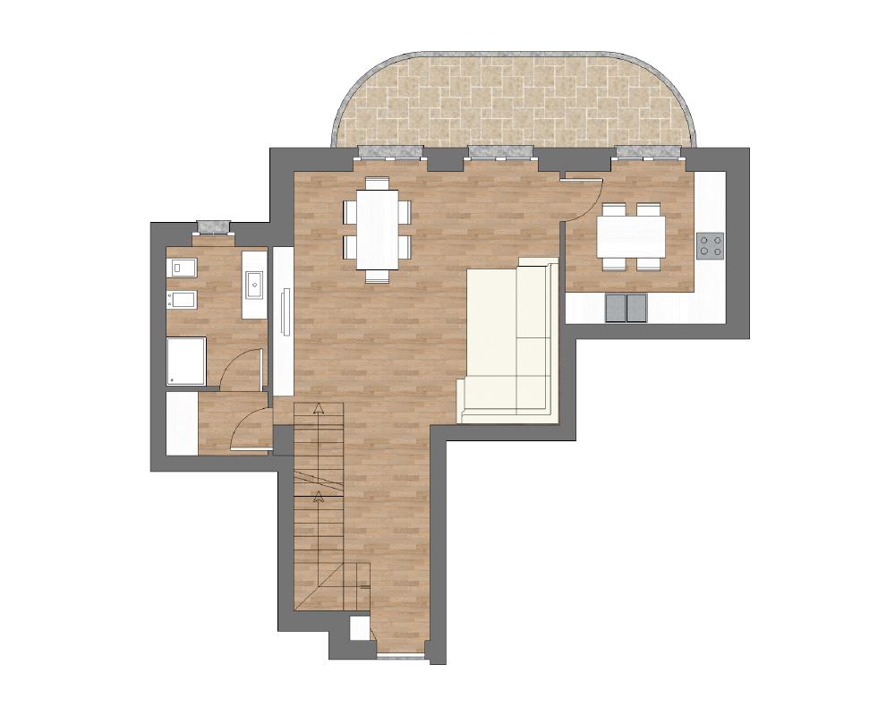 appartamento a12 miniatura palazzina a