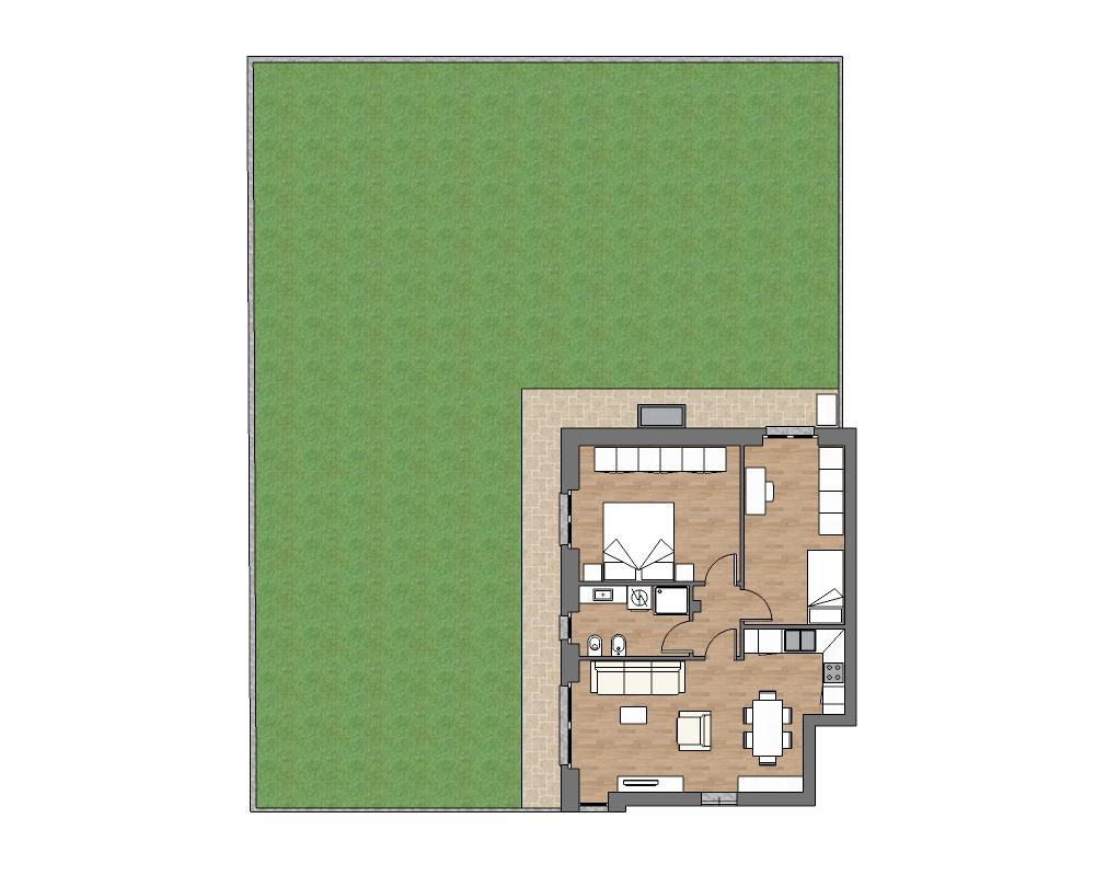 appartamento a3 miniatura palazzina a