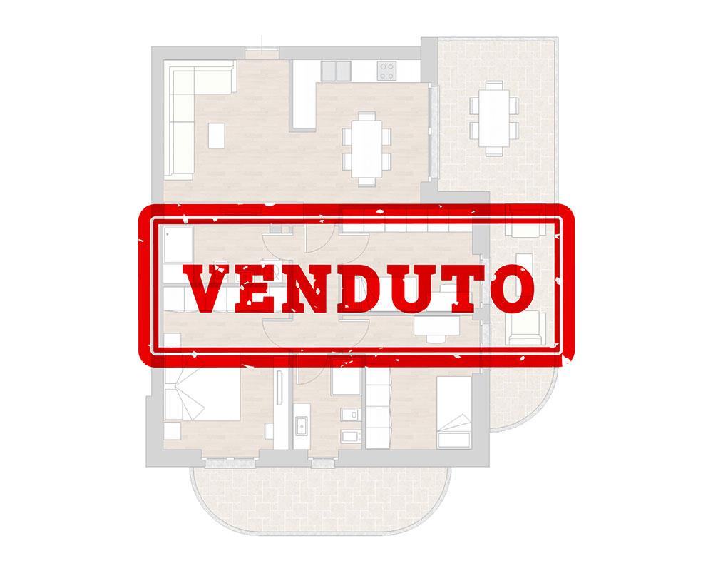 appartamento a5 miniatura palazzina a