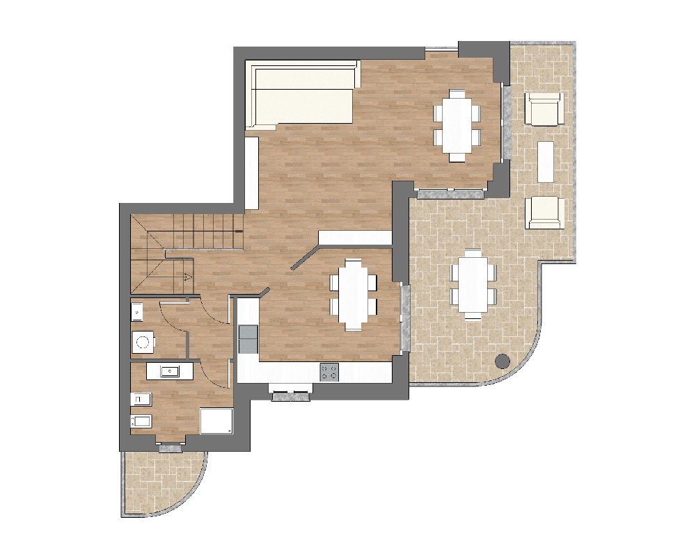 appartamento b10 miniatura palazzina b