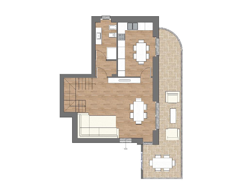 appartamento b1 miniatura palazzina b