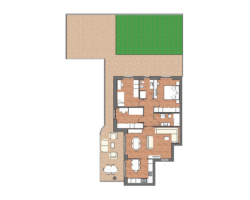 appartamento b4 miniatura palazzina b