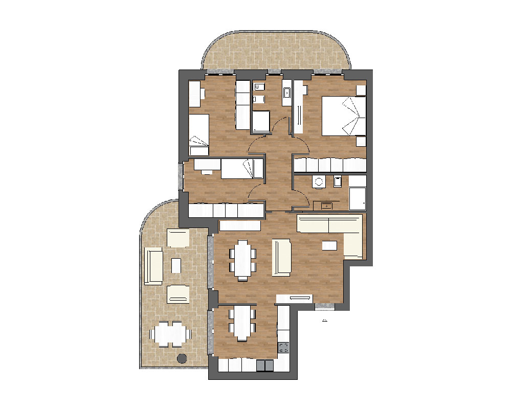 appartamento b8 miniatura palazzina b